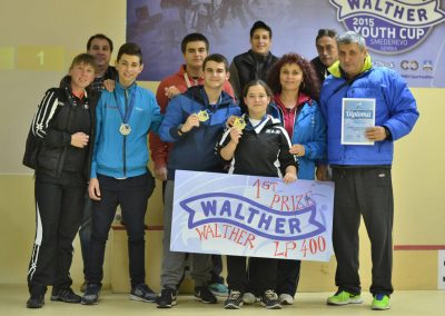 Walther Youth Cup Smederevo Serbia
